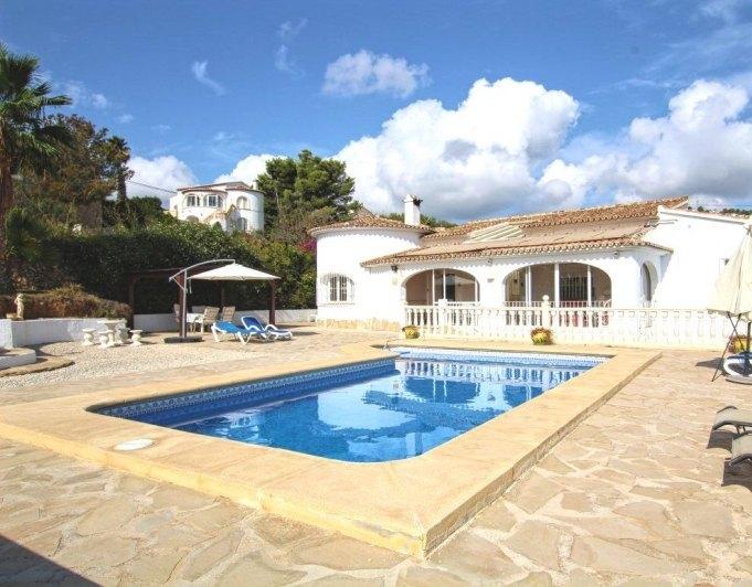 Inmoriquelme villa con piscina privada en benissa costa for Villas con piscina privada en fuerteventura